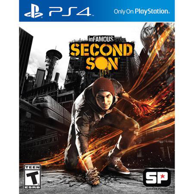 Sony Infamous Second Son (PS4) - Pre-Owned