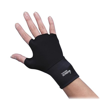 Dome, DOM3703, Standard Therapeutic Support Gloves, 2 / Pair, Black