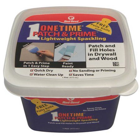 Onetime 16 OZ Patch & Prime Light Weight Spackling ()
