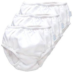 iPlay Ultimate Swim Diaper - White, 3 Pack (24 Months)