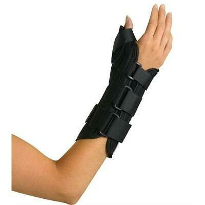 Wrist and Forearm Splint with Abducted Thumb,Large, 1/EA Medline Wrist Splint
