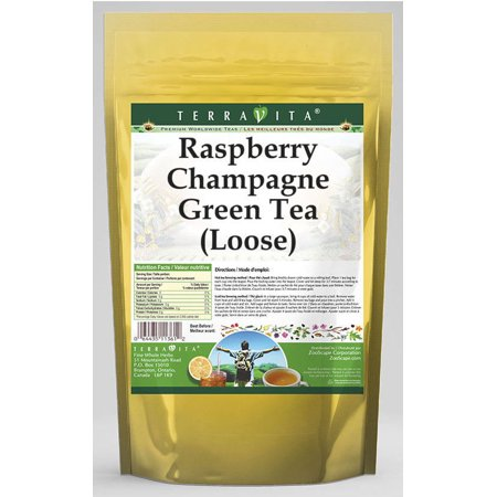 Raspberry Champagne Green Tea (Loose) (4 oz, ZIN: 538670)
