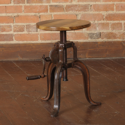 William Sheppee Mill Adjustable Height Bar Stool by William Sheppee