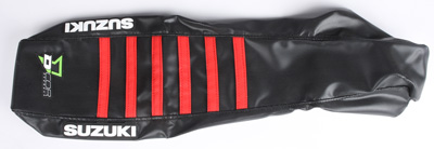 D/'COR Seat Covers Factory Black//Red Ribs 30-40-453