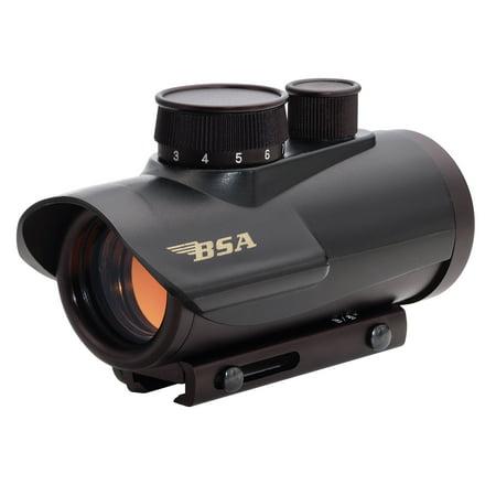 BSA Illuminated Red Dot 30mm, 5 MOA Dot (Best Red Dot For Night Vision)