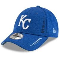 Kansas City Royals New Era Speed Shadow Tech 9FORTY Adjustable Hat - Royal - OSFA