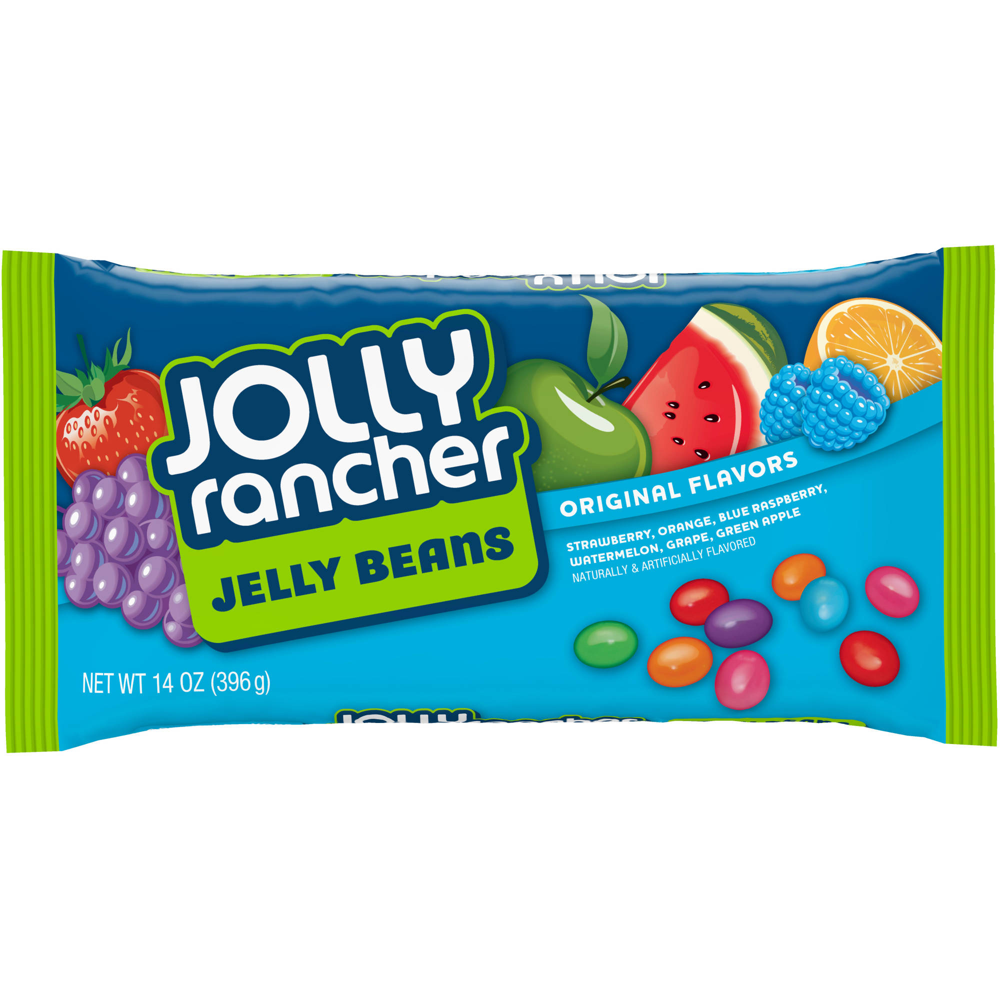 Jolly Rancher Original Flavors Jelly Beans Candy, 14 oz
