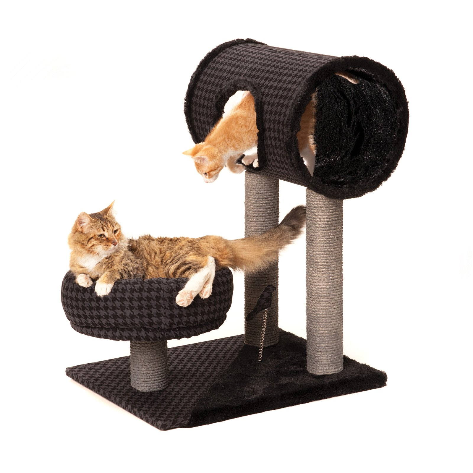 Max and Marlow Sisal Cat Tunnel Hut and Lounger