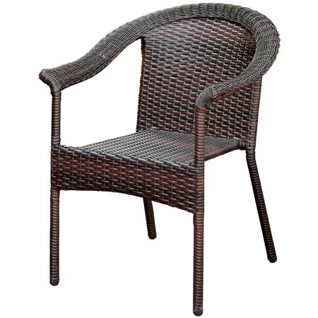 Furniture of America Arlie Contemporary Patio Chair, Espresso ()
