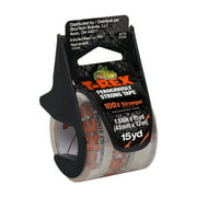 T-Rex 1.88 in x 15 yd Clear Packing Tape with Dispenser