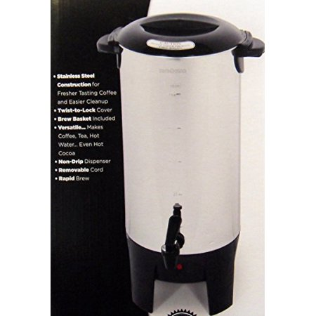 - EUROSTAR ES50 10 to 50 Cup Coffee Maker