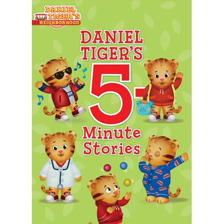 Daniel Tiger's 5-Minute Stories (Hardcover) - Daniel Tiger Fabric