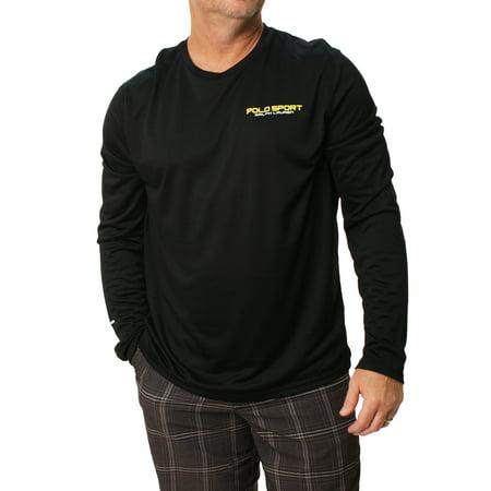 Ralph Lauren Polo Sport Mens Long Sleeve Knit Performance Shirt