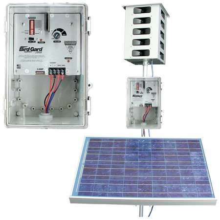 BIRD-X MEGA Solar Sonic Bird Repeller 30 acres