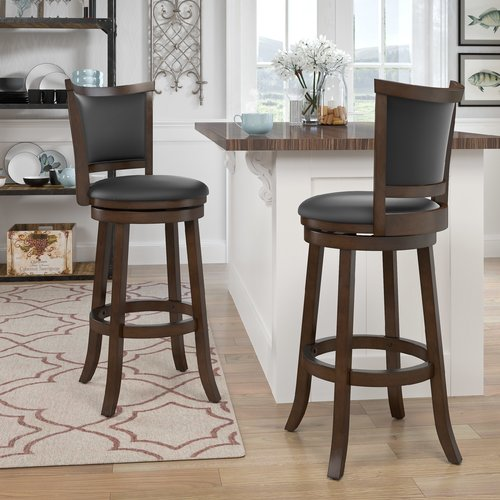 World Menagerie Downs 29'' Swivel Bar Stool (Set of 2)