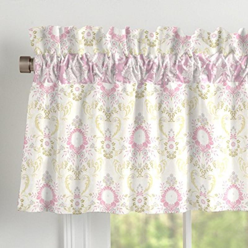 Carousel Juliet Window Valance Rod Pocket