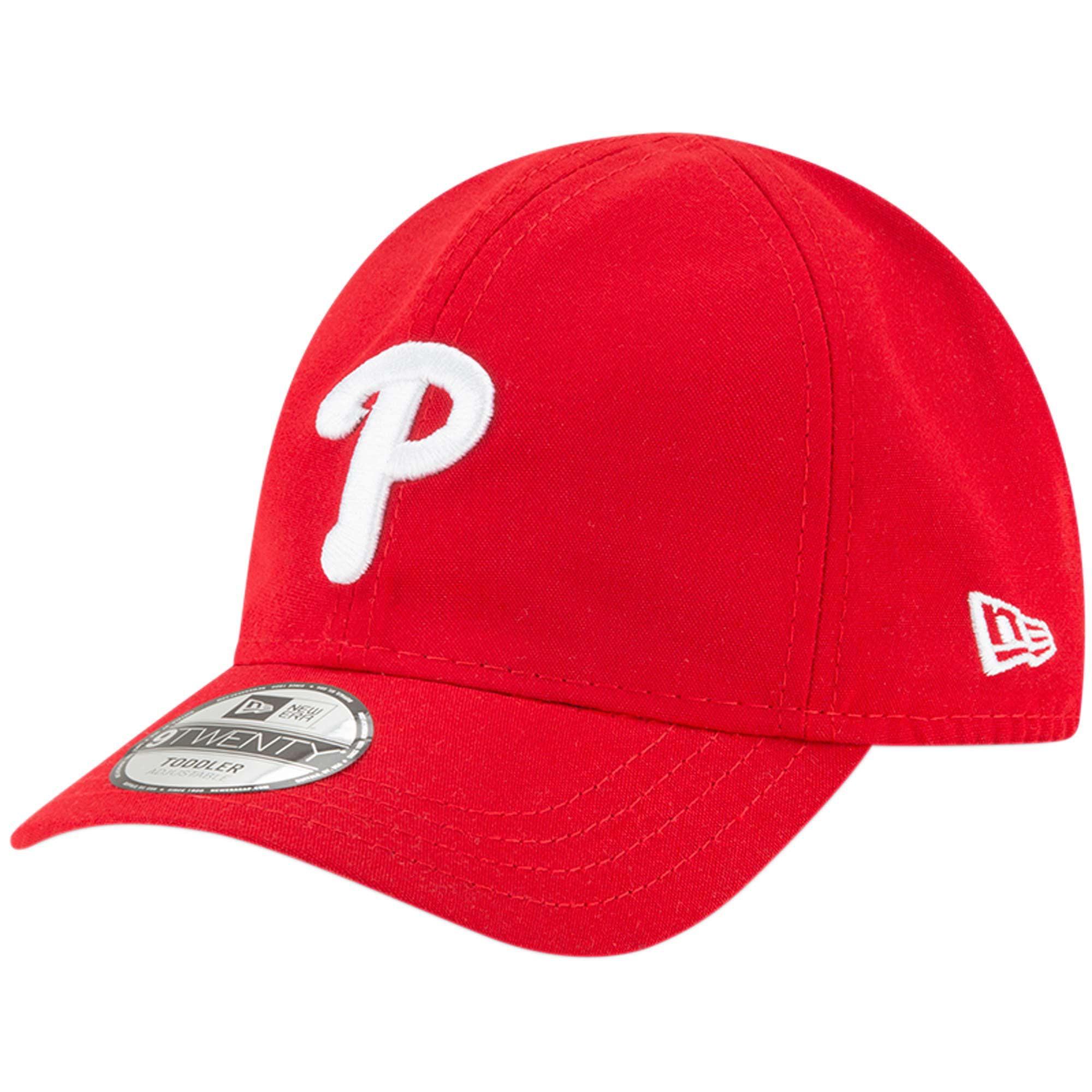 Philadelphia Phillies New Era Toddler My 1st 9TWENTY Adjustable Hat - Red - OSFA