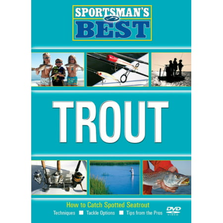 Sportsman's Best: Trout Fishing New, DVD How To Catch Spotted Sea