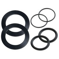 Intex Replacement Larger Strainer, Washer & O-Ring Parts Pack 10745, 10255, 10262