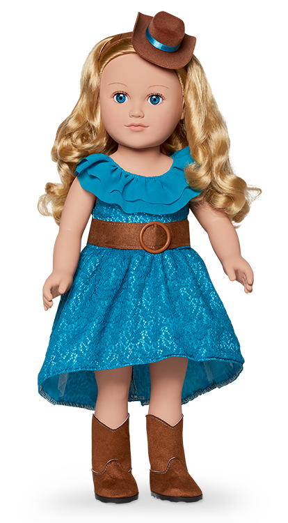 My Life As 18-inch Cowgirl Doll, Blonde by HONG KONG CITY TOYS FACTORY LIMITED