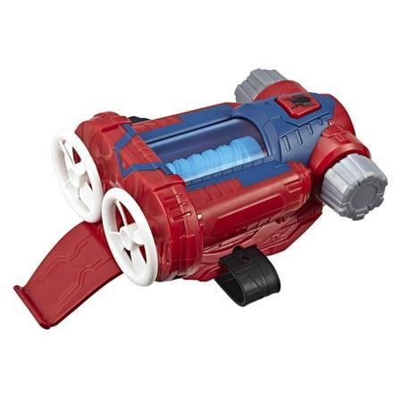 Web Blaster (Spider-Man Web Shots Twist Strike Blaster Toy, Ages 5 and up )