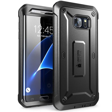 galaxy s7 edge case supcase full body rugged holster case. Black Bedroom Furniture Sets. Home Design Ideas