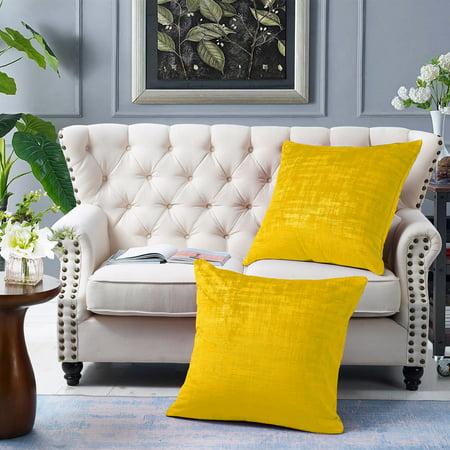 Textured Velvet 2 Piece Euro Pillow Shell Set ()