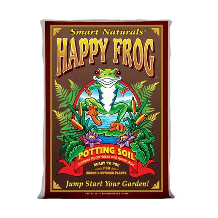(Foxfarm FX14047 pH Adjusted Happy Frog Organic Potting Soil Mix 2 Cubic Feet Bag)