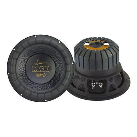 Bruit autour / Driver LANZAR AUDIO MAX8 8 600 Watt Subwoofer pour les petits bo-tiers - image 2 de 5