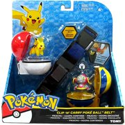 Pokemon XY Clip 'n' Carry Poke Ball Belt #5 [Pikachu & Hoopa]