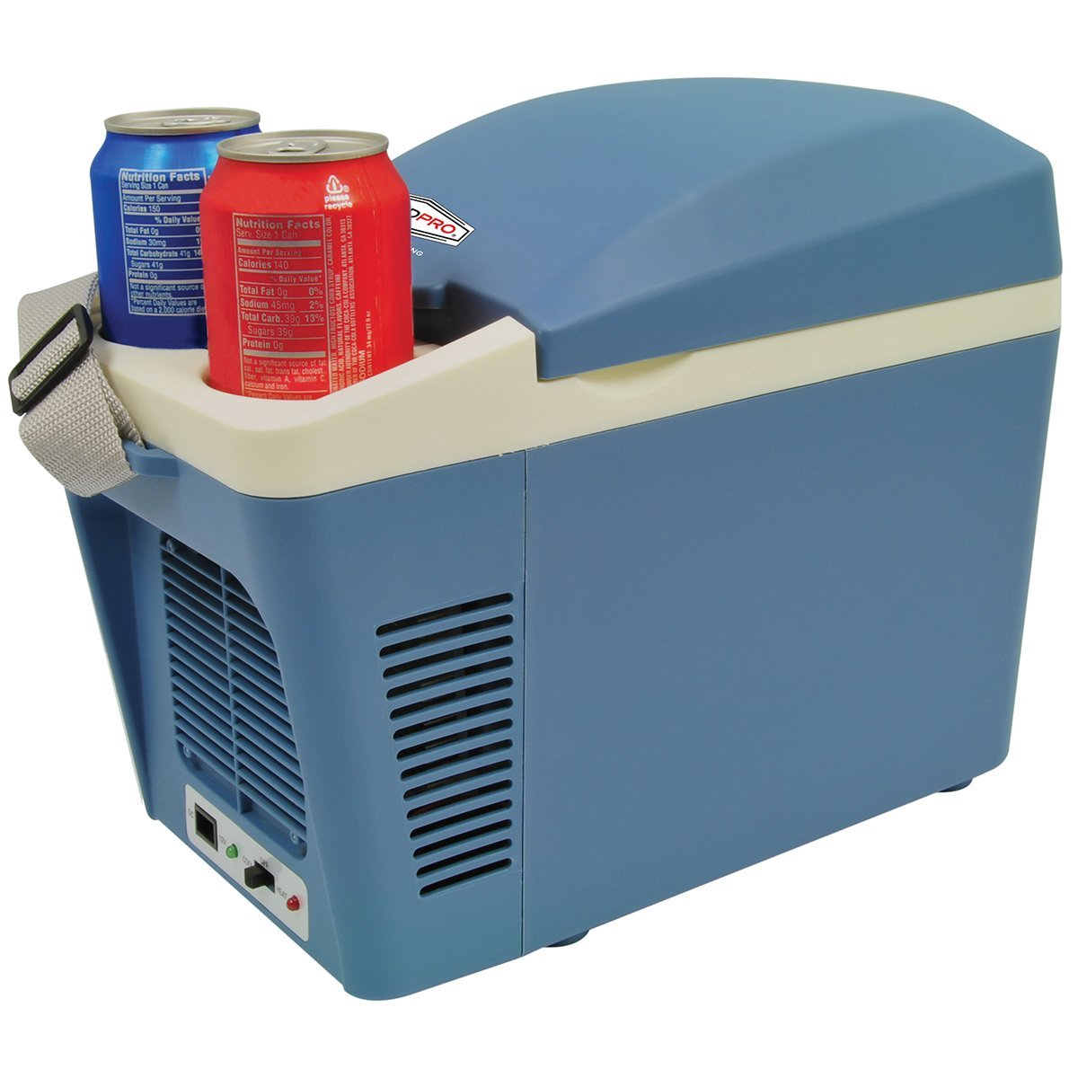 ROADPRO  RPAT-788 12-VOLT 7 LITER COOLER WARMER WITH CUP HOLDERS