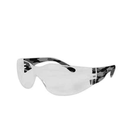 Magid Gemstone Myst Black Camo-Temple Safety Glasses, Pair