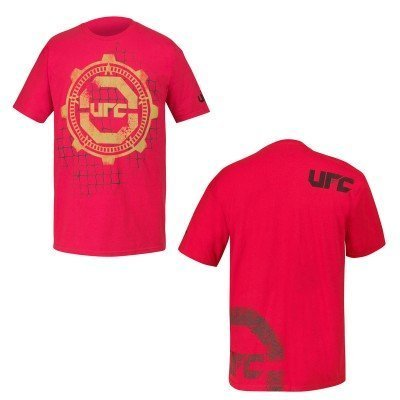 UFC Gears Retro Logo Adult Red