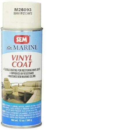 sem products sea ray mystic white marine vinyl coat 12 oz m25093. Black Bedroom Furniture Sets. Home Design Ideas