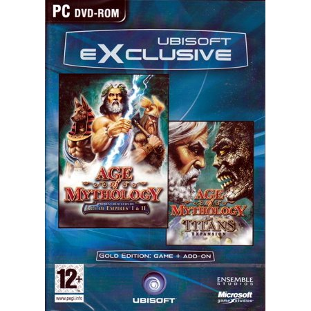 Age of Mythology Gold Edition w/The Titans Expansion PC (Best Single Shooter Pc Games)