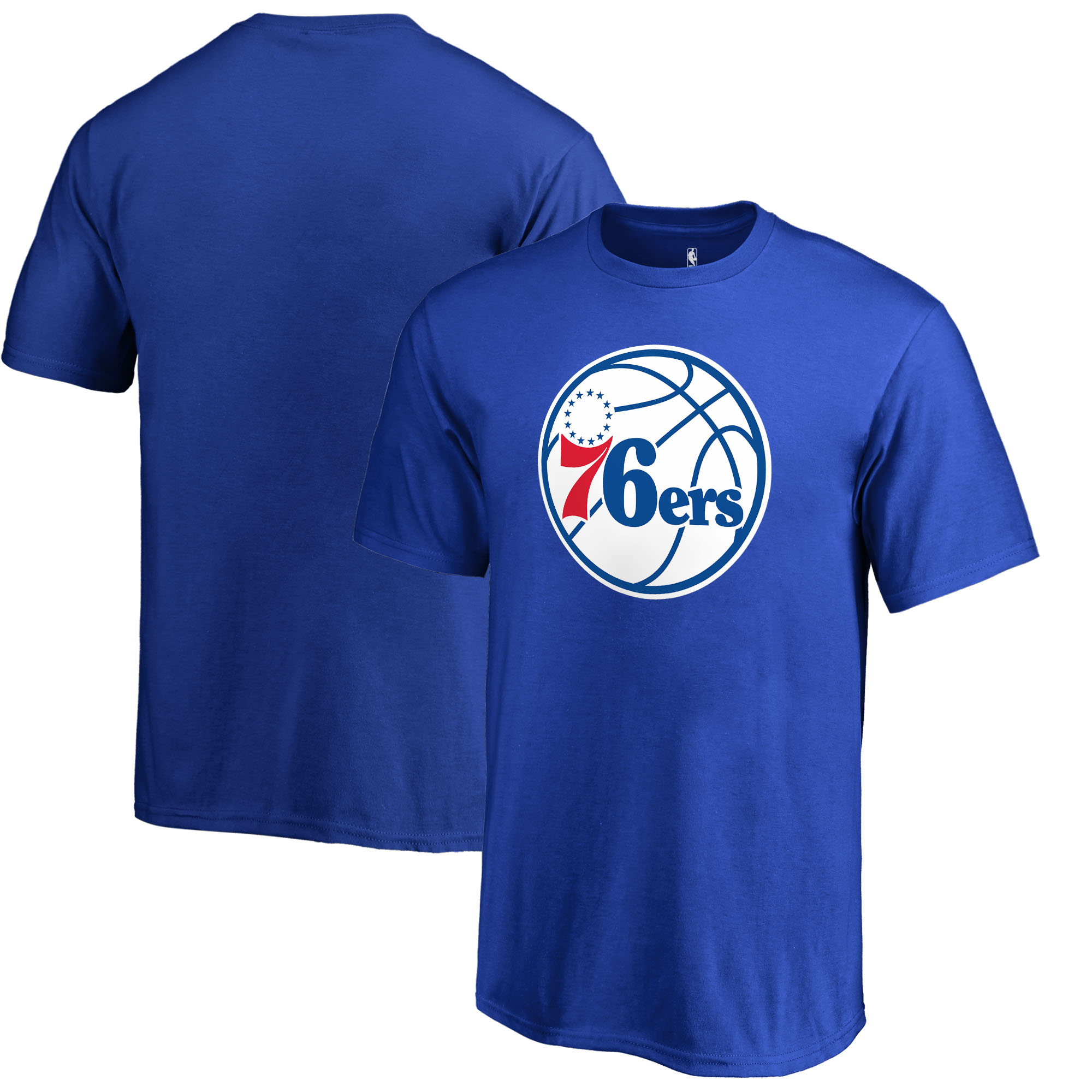 Philadelphia 76ers Fanatics Branded Youth Primary Logo T-Shirt - Royal