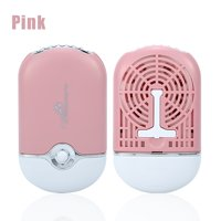 WALFRONT 3 Colors Portable Cooling USB Mini Fan Air Conditioning Eyelash Extension Glue Quick Dry Tool,Mini Fan, Portable Mini Fan