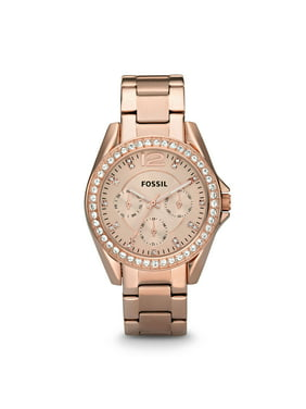 Fossil Women's Riley Multifunction Rose Gold Stainless Steel Watch (Style: ES2811P)