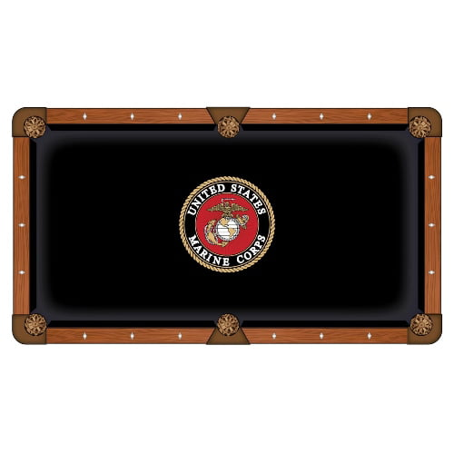 foto de Holland Bar Stool 7-Foot US Marine Corps Pool Table Cloth ...
