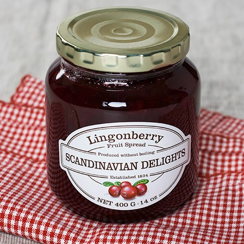 Lingonberry Fruit Spread by Scandinavian Delights