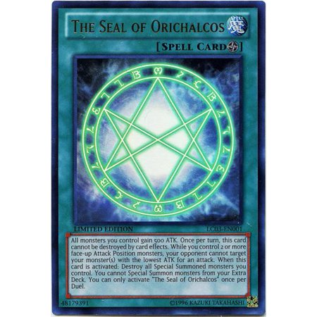 YuGiOh Legendary Collection 3 The Seal of Orichalcos