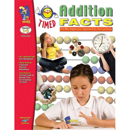 On The Mark OTM1139 Timed Addition Facts Deal