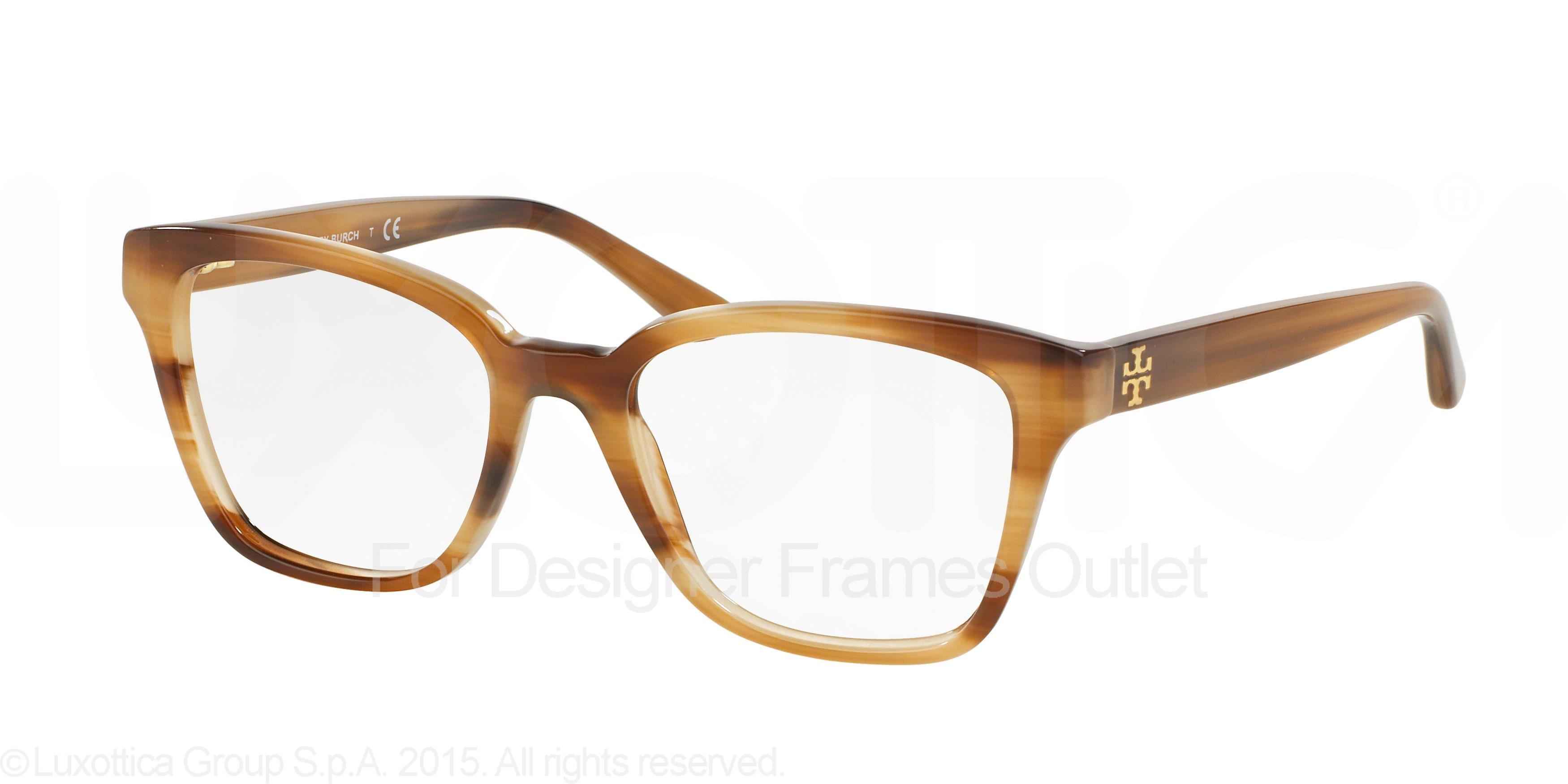 1c2debcc0ed3 TORY BURCH Eyeglasses TY 2052 1416 Medium Horn 49MM - Walmart.com