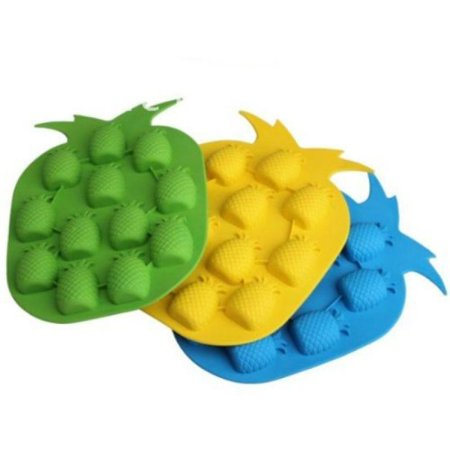 Beautiful Shapes - Beautiful Thermal Plastic Rubber Pineapple Shape Ice Cube Cake Mold
