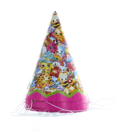 (4 Pack) Shopkins Party Hats, 8ct