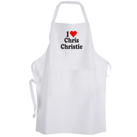 Aprons365 - I Love Chris Christie – Apron - Governor of New Jersey](Governor Christie Halloween)