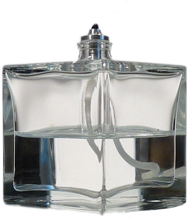 Aura Petite Glass Refillable Oil Lamp by Firefly Fuel, Inc.