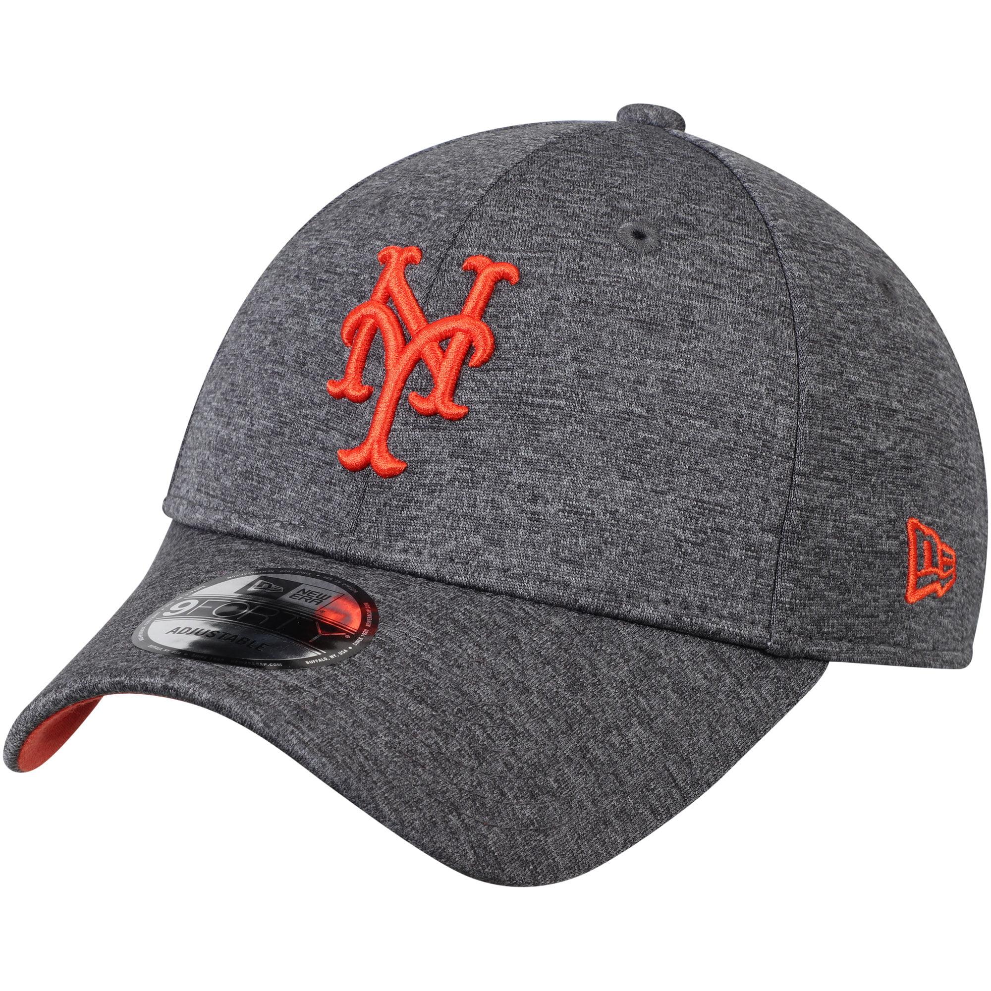 New York Mets New Era Shadow Side 9FORTY Adjustable Hat - Graphite - OSFA