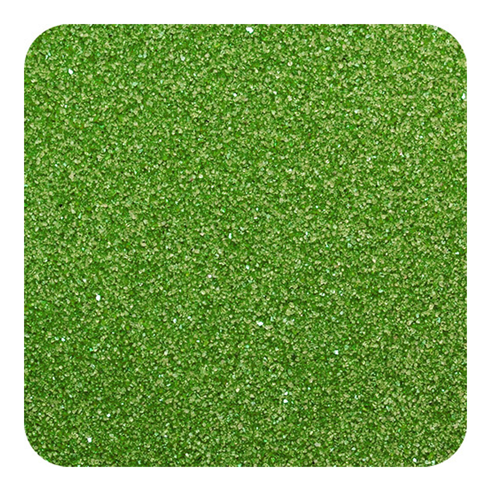Sandtastik Classic Colored Non-Toxic Play Sand 1 Lb (454 G) Bag - Evergreen