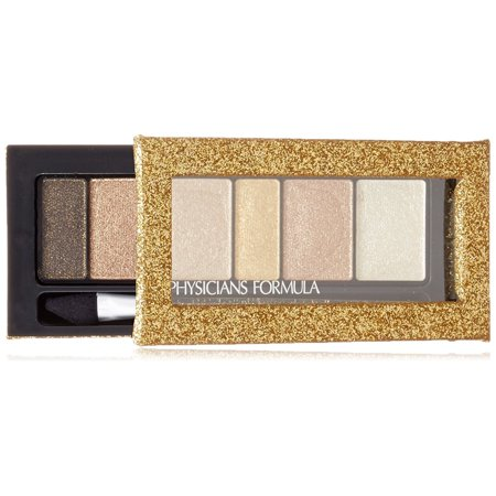 Physicians Formula Shimmer Strips Custom Eye Enhancing Extreme Shimmer Shadow & Liner Disco Glam, Gold Nude